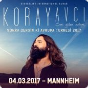 Koray Avci Tour 2017 - Live in Mannheim