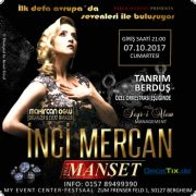 Inci Mercan live on Stage