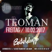 TEOMAN live on Stage